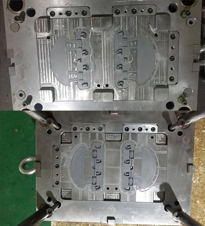 Injection mold for nylon parts
