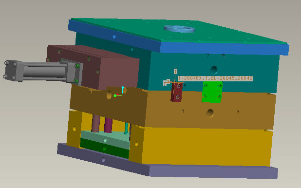 Mold design in 3D